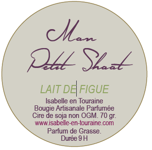 "Candle ""Mon Petit Shoot"". Fig milk"