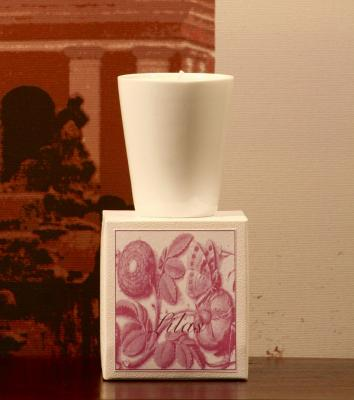 "Candle ""les intemporelles"" Lilac"