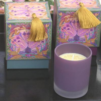 Candle Les Moissons . Rose and Patchouli