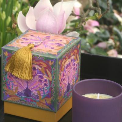 Candle Les Moissons .Gold flower perfum