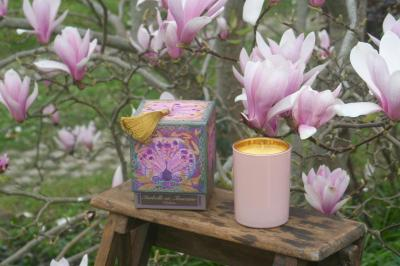 Scented candle LES MOISSONS, Hyacinth