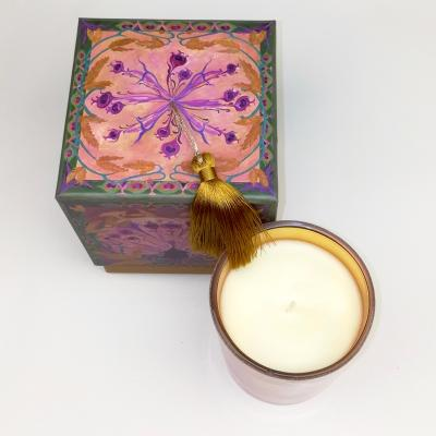Scented candle LES MOISSONS, Lilac